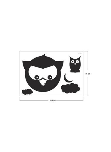 Disney Baykuş Klozet Sticker 19X18 Cm Renkli